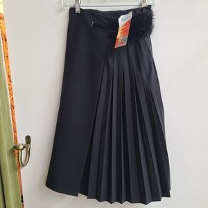 NWT J Mendel Paris A Line Pleats Skirt